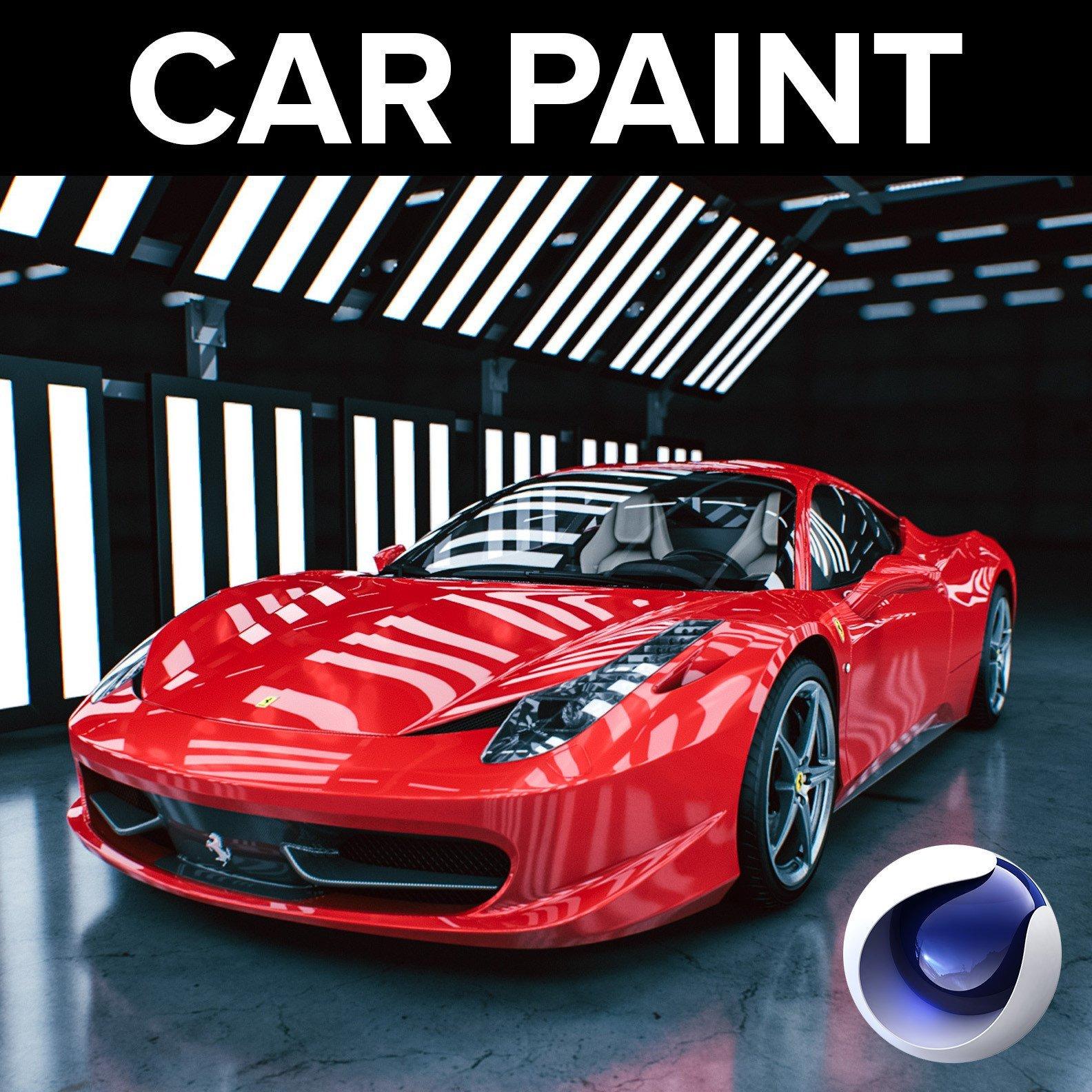 cinema 4d car paint create beautiful car renders in cinema 4d. Black Bedroom Furniture Sets. Home Design Ideas