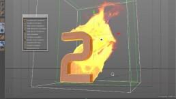 Make Fire & Smoke with Turbulence FD in Cinema 4D.