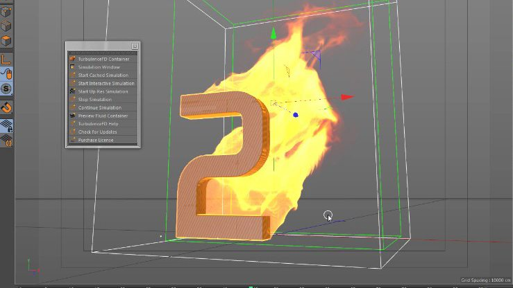 Make Fire & Smoke with Turbulence FD in Cinema 4D.