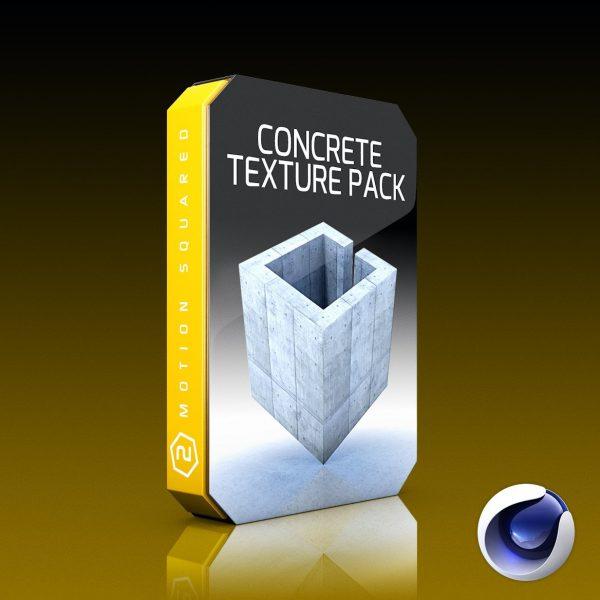 Cinema 4D Concrete Texture Pack