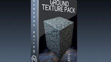Cinema 4D Ground Texture Pack
