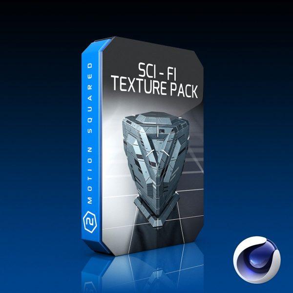 Cinema 4D Sci-Fi Texture Pack