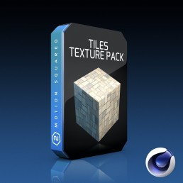 Cinema 4D Tiles Texture Pack