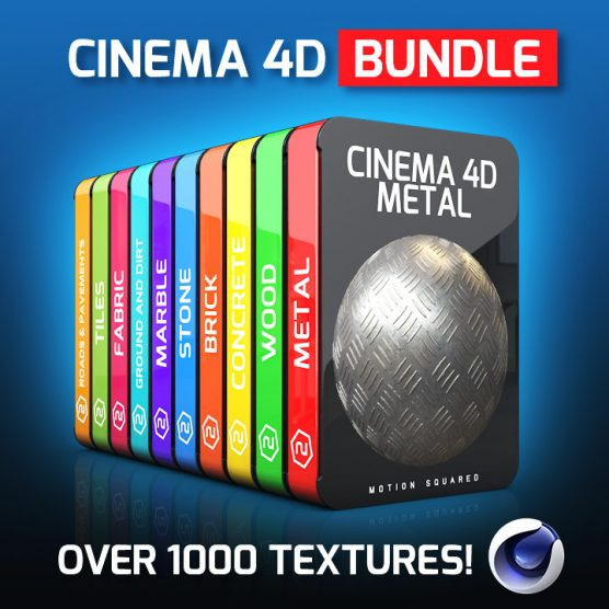 cinema 4d texture packs bundle