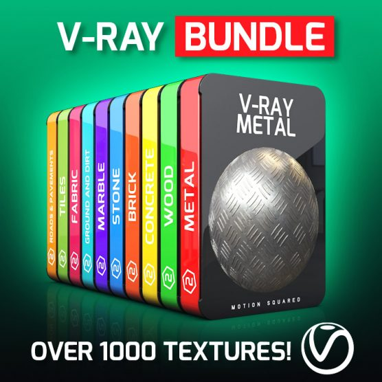V-Ray Textures Bundle for Cinema 4D
