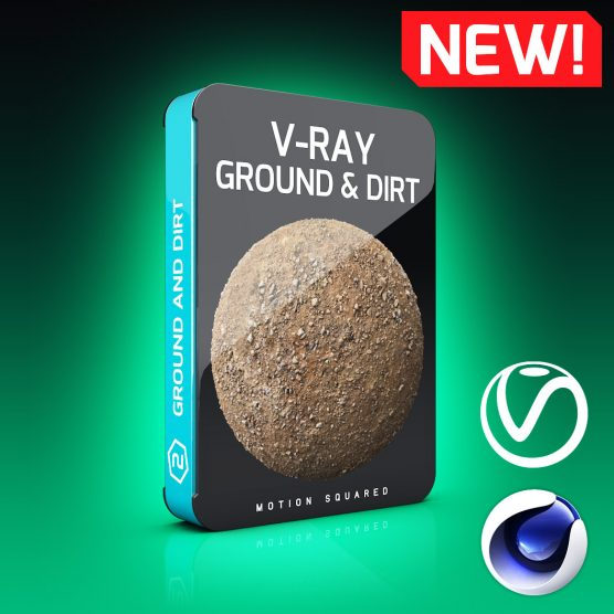 V-Ray Ground and Dirt Texture Pack for Cinema 4D