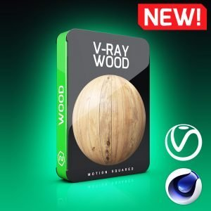 V-Ray Wood Texture Pack for Cinema 4D