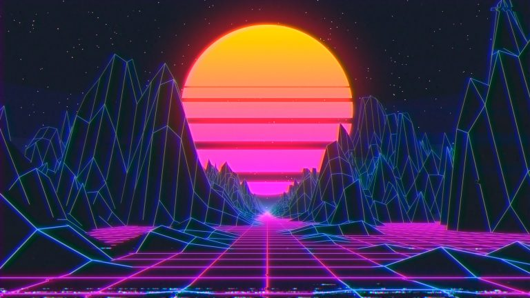 synthwave loop tutorial cinema 4d