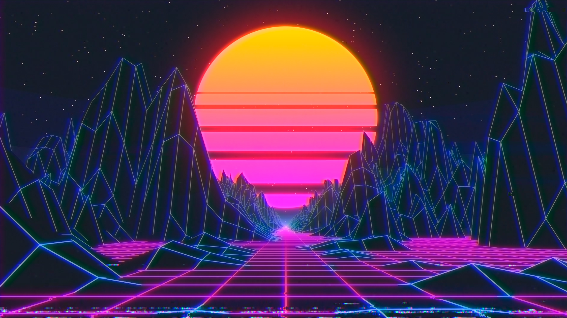 Synthwave Loop Tutorial - Cinema 4D & After Effects - MOTION SQUARED