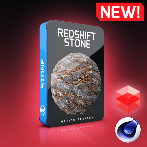 redshift stone materials pack for cinema 4d