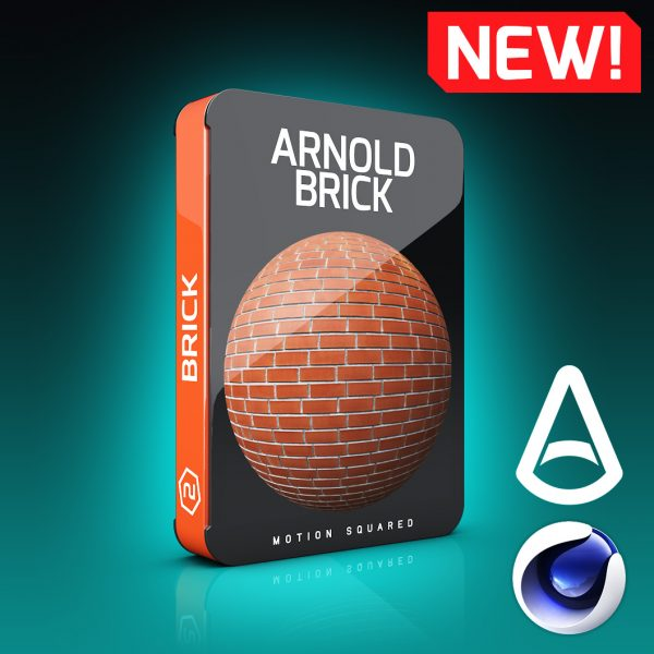 Arnold Brick Materials Pack For Cinema 4D