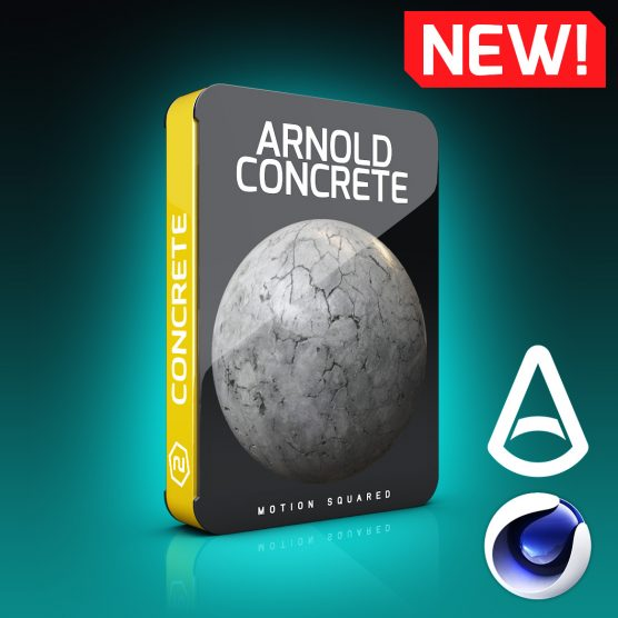 Arnold Concrete Materials Pack For Cinema 4D