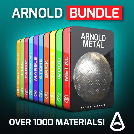 Arnold Material Packs Bundle for Cinema 4D