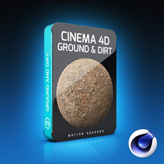 Cinema 4D Ground and Dirt Materials Pack