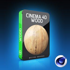 Cinema 4D Wood Materials Pack