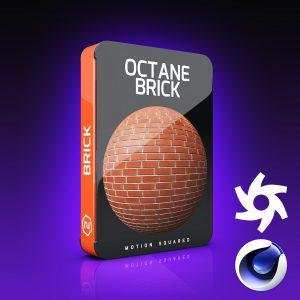 Octane Brick Materials Pack for Cinema 4D