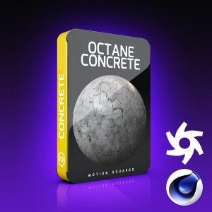 Octane Concrete Materials Pack for Cinema 4D