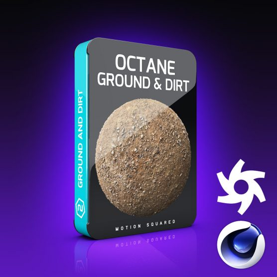 Octane Ground and Dirt Materials Pack for Cinema 4D