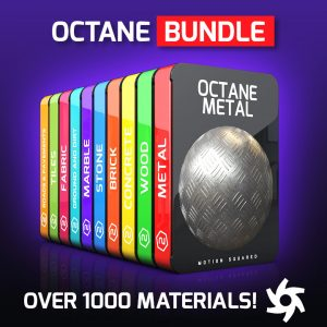 Octane Material Packs Bundle for Cinema 4D
