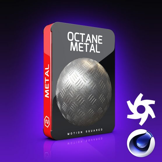 Octane Metal Materials Pack for Cinema 4D