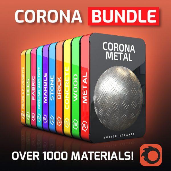 Corona Material Packs Bundle for Cinema 4D