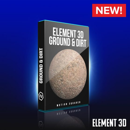 Element 3D Ground and Dirt Shaders