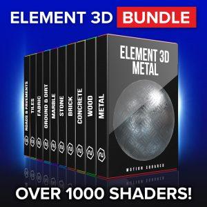 Element 3D Shaders Bundle