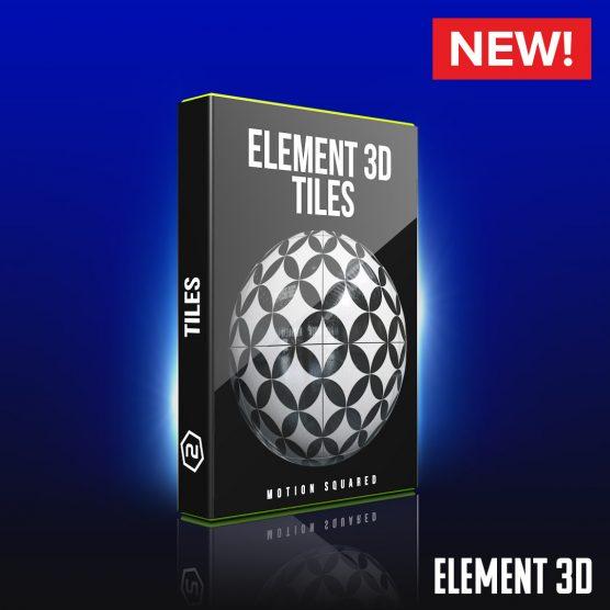Element 3D Tile Shaders