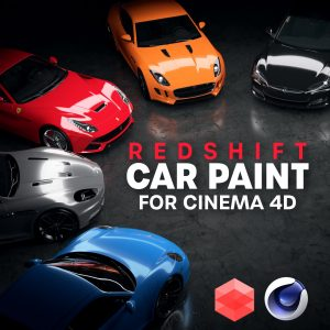 Redshift Car Paint Materials For Cinema 4D