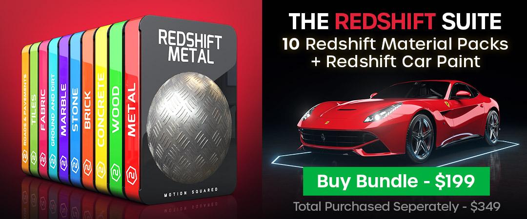 Redshift Materials Suite