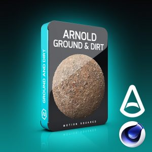 arnold ground and dirt materials pack for cinema 4d