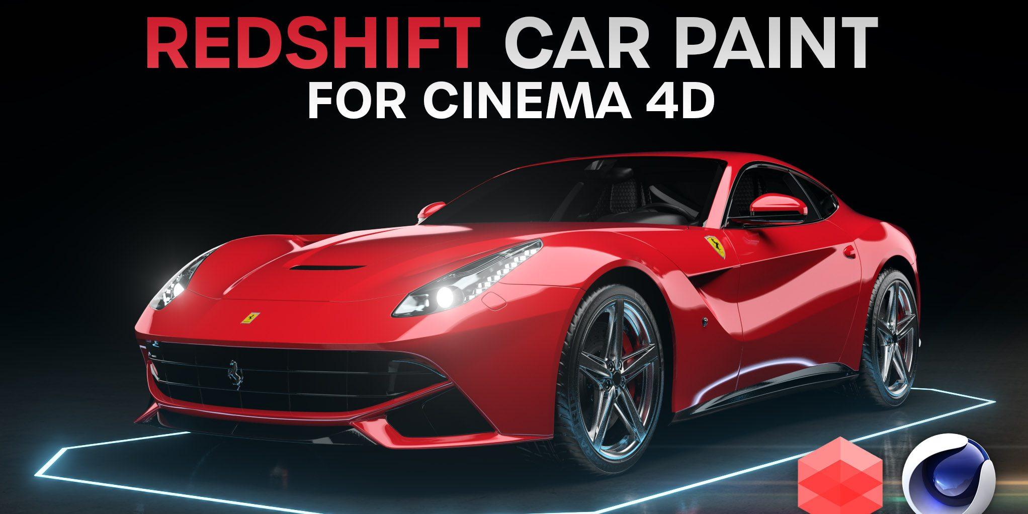 cinema 4d redshift car paint
