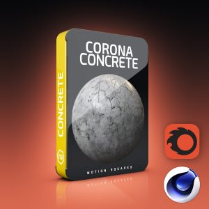 corona concrete materials pack for cinema 4d