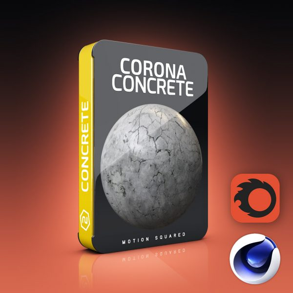 corona concrete materials pack for cinema 4d