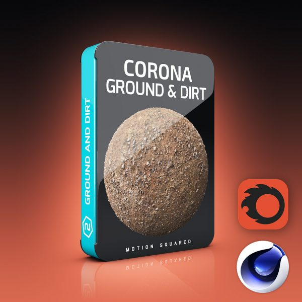 corona ground and dirt materials pack for cinema 4d