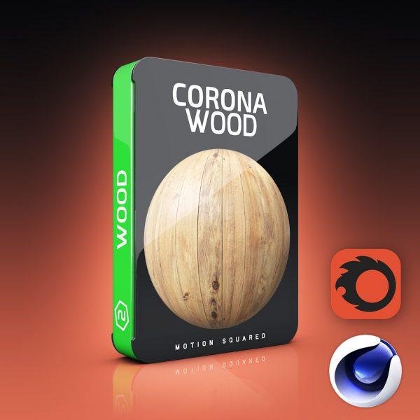 corona wood materials pack for cinema 4d