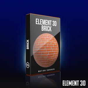 element 3d brick shaders