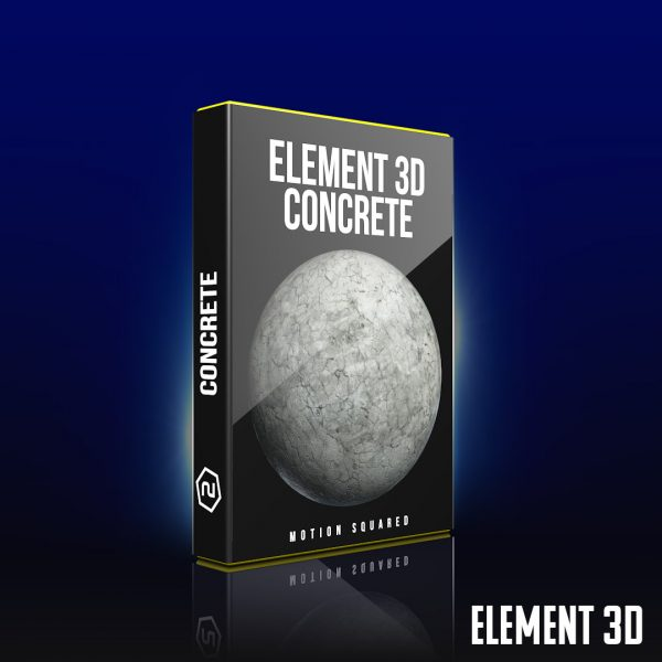 element 3d concrete shaders