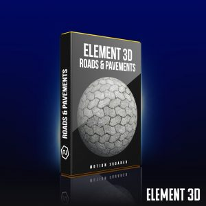 element 3d road and pavement shaders