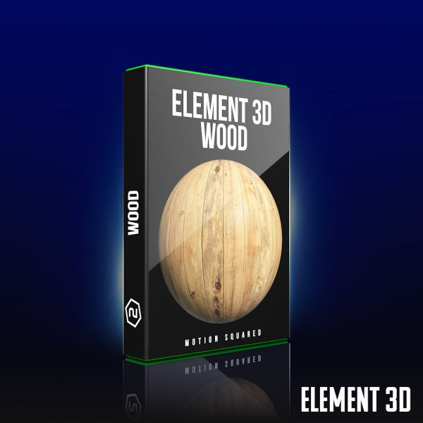 element 3d wood shader