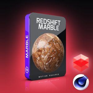 redshift marble materials pack for cinema 4d