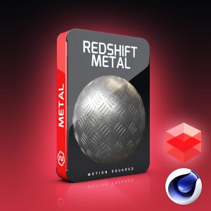 redshift metal materials pack for cinema 4d
