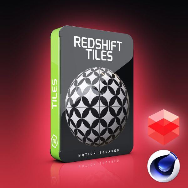 redshift tiles materials pack for cinema 4d
